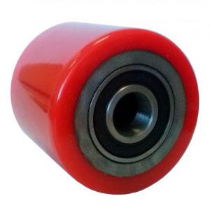 Чугунный подвилочный ролик с полиуретаном Roller PU 82x100 - фото 1
