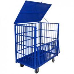 Передвижной металлический контейнер КТМ 6 - фото 1