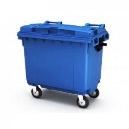Полимерный контейнер для мусора без педали 660 л - фото 1