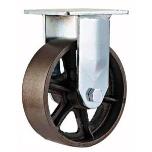 Неповоротное чугунное колесо FCds 160 - фото 1