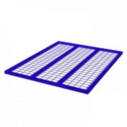 Полка для металлических контейнеров сетчатая 600х900 - фото 1