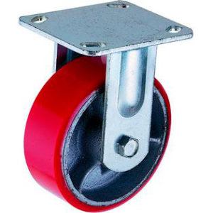 Поворотное чугунное колесо с полиуретаном SCp 200 - фото 1