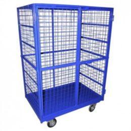 Передвижной металлический контейнер без полок ШСМ 2 - фото 1