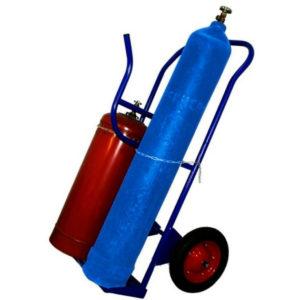 Тележка для перевозки двух газовых баллонов КП-2-У - фото 1