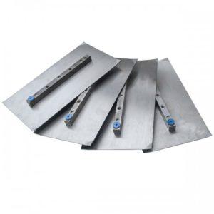 Комплект лопастей для двухроторной затирочн. маш. GROST – 150x270 мм (4шт) - фото 1