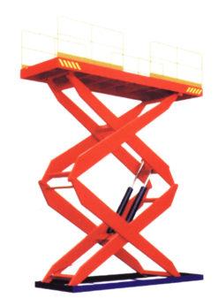Гидравлический подъемный стол  SJ Грузоподъемность: 2500 кг