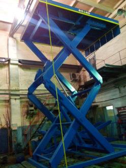 Гидравлический подъемный стол  SJ Грузоподъемность: 1500 кг