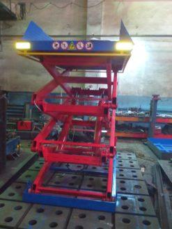 Гидравлический подъемный стол  SJ Грузоподъемность: 2000 кг