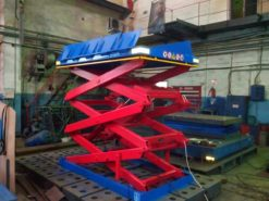 Гидравлический подъемный стол  SJ Грузоподъемность: 200 кг