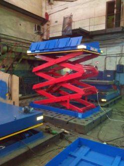 Гидравлический подъемный стол  SJ Грузоподъемность: 3000 кг